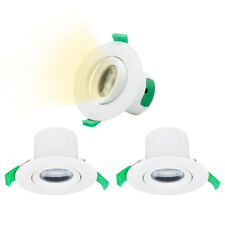 Directional 7W LED Small Recessed Ceiling Downlights Recessed Spotlight Lighting