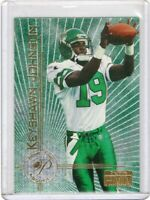 1996  SKYBOX  FOOTBALL ROOKIE CARD # 7 - KEYSHAWN JOHNSON - NEW YORK JETS