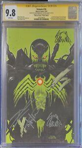 Venom 26 CGC SS 9.8 (1st Virus) Unknown Virgin Var Sig Kirkham, Cates, & Stegman