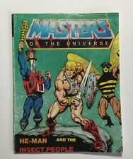 Motu Vintage Mini Comic He Man And The Insect People English French