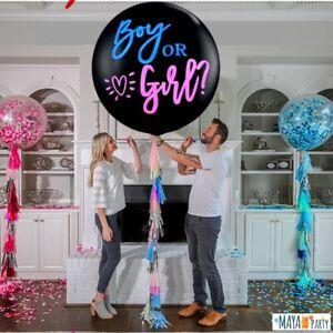 baby shower BOY or GIRL PALLONCINO 90 cm gravidanza NEONATO maschio o femmina