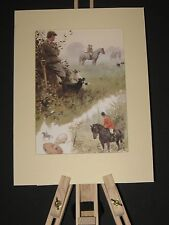 Fox Hounds. Two Hunting Prints. Fox hunting. Hunting. Hounds. Working Terriers,