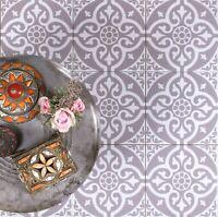 Antique Victorian Hall Floor Encaustic Triangle Tiles 177