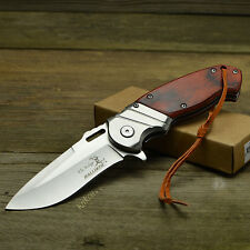 Elk Ridge Ballistic Assisted Opening Pakkawood Handle Linerlock Knife