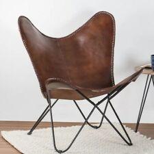 Retro Butterfly Chair Vintage Industrial Style Metal Upholstered Furniture Seat