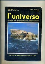 L'UNIVERSO N.2 # MARZO-APRILE 1993 # Istituto Geografico Militare 1993