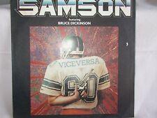 "SAMSON - VICE VERSA / LOSING MY GRIP - OZ 7"" PIC/SLV VINYL - BRUCE DICKINSON"