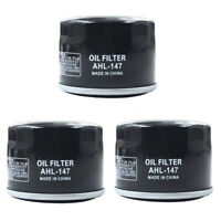 3 Pack Oil Filters for Kymco UXV 700I Yamaha FX10M PZ50GT XP500 TMAX500 RST90