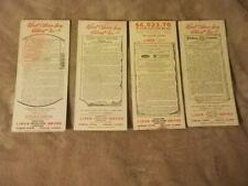 Old Advertising Blotters 4 Newspaper Liner CampaignsTribune Tower Chicago Ill