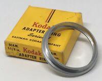 "Vintage Kodak Adapter Ring For Series V 1-1/8"" or 28.5mm Diameter w Original Box"