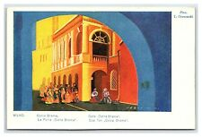 Postcard Wilno Ostra Brama T Gronowski Artist Signed Polish Exhibition 1929 C22