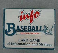 Info Baseball 1998 Annual Edition Card Game of Information and Strategy Games