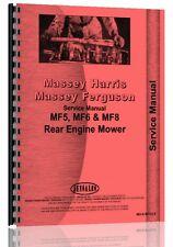 Massey Ferguson 6 Lawn & Garden Tractor Service Manual