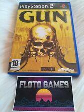 Jeu Gun pour Sony Playstation 2 PS2 Complet CIB - Floto Games