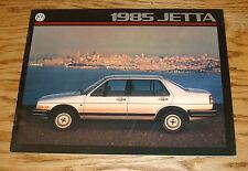 Original 1985 Volkswagen VW Jetta Sales Brochure 85