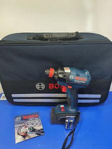 Bosch 18v Brushless Impact Driver/Wrench + Bag