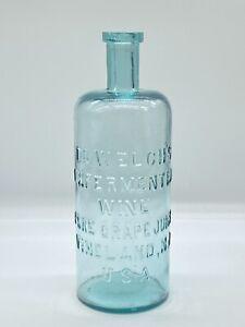 Antique Dr. Welch's Unfermented Grape Juice Bottle