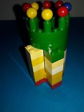 Building Blocks – in set of 3 x Castle Towers  – curved blocks & accessories