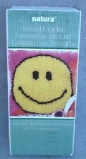 Natura Latch Hook Kit Smiley Face Yarn Art 12 x 12 Inches