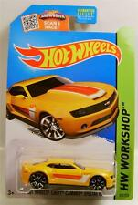 2013 '13 2012 2011 2010 CHEVY CAMARO SPECIAL EDITION YELLOW HOT WHEELS DIECAST