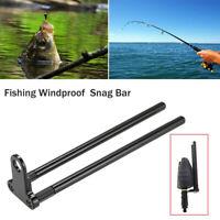 KE_ Snag Bar Ear Aluminum Alloy Windshield Carp Bite Alarm Fishing Tackle Eyef