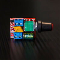 Mini DC Motor Speed Controller Ultra Small High-Speed PWM LED Dimmer 3V - 35V 5A