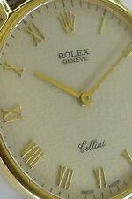 ROLEX Cellini Classic Ref 5112 n 18ct Gelbgold Herren Handaufzug von ca. 1997
