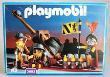 RARE VINTAGE 1993 PLAYMOBIL 3653 KNIGHTS CATAPULT GERMANY NEW MISB SEALED !