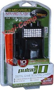 Wild Game Innovations X10 Pulse 10 Digital Infrared Scouting Trail Color Camera