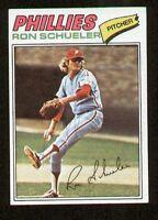Ron Schueler #337 signed autograph auto 1977 Topps Baseball Trading Card