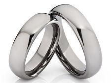 2 Eheringe Trauringe Verlobungsrunge aus Wolfram & Lasergravur