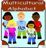 Multicultural Alphabet Frieze Teaching Resources Display KS1 EYFS Childminder cd