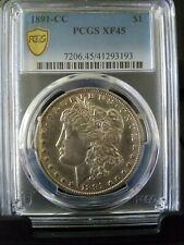 1891-cc Morgan Silver Dollar vam-3 SPITTING EAGLE PCGS XF45 (HOT)1885-cc 1889-cc