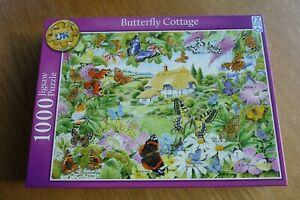 FX Schmid 1000 piece puzzle Butterfly Garden new