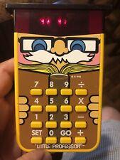 Vintage 1976 Texas Instruments Little Professor Calculator Works