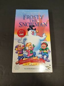 Frosty The Snowman VHS - Brand New - 1993