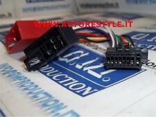 Cavo ISO adattatore autoradio radio Sony 16 pin dal 2014 in poi 22x10,7 mm