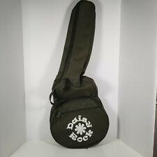 Daisy Rock Debutante Short Scale Guitar Case, Back Pack Olive Green