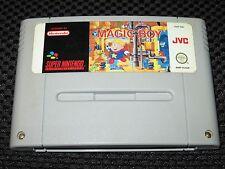 Jeu MAGIC BOY SNES Super Nintendo Super NES PAL EUR