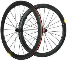 700C Clincher Carbon Road Bike Wheelset Chosen 50mm Ultra Light Carbon Wheels