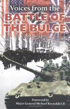 Voices from the Battle of the Bulge-Nigel de Lee,Major General Michael Reynolds