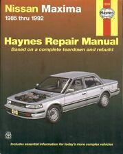 NISSAN MAXIMA 3.0 LITRE SALOON ( 1985 - 1992 ) OWNERS REPAIR MANUAL