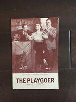 """""""The Playgoer"""" Cast Signed Program -Alan Dinehard/Lyle Talbot-1941"""