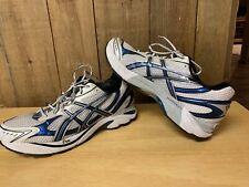 Asics Gel Mens GT-2150 Running Walking Shoes Silver Blue T004N Gel Size 10.5