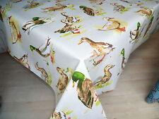 Vinyl Unbranded Rectangular Tablecloths