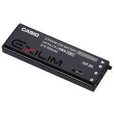 Casio Genuine Rechargeable Battery NP-50 Battery For EX-V7,EX-V8 NP-50DCA -Black