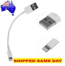 SHORT Lightning Data Cable Charger for iPhone iPad H QUALITY (20 CM ) WARRANTY