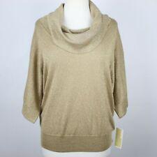 NEW MICHAEL KORS Sparkle Cowl Neck Sweater LARGE