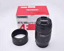 Tamron AF 75-300mm f/4-5.6 LD Tele-Macro Zoom Lens Model# 672D Canon AF (#7205)