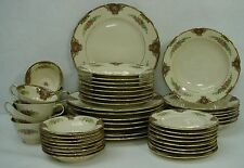 BLACK KNIGHT china WASHINGTON pattern 50-piece SET SERVICE